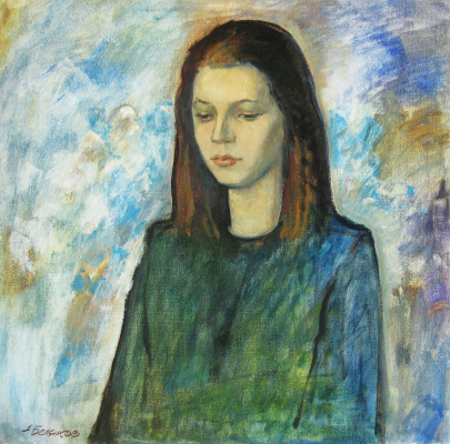 Александр Викторович Беляков. Zhenya. Portrait of a daughter.