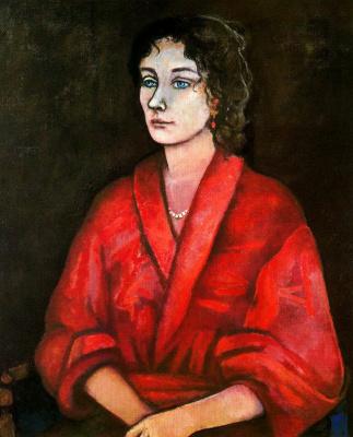 Данс Мария Антония Боадо. Женщина в красном
