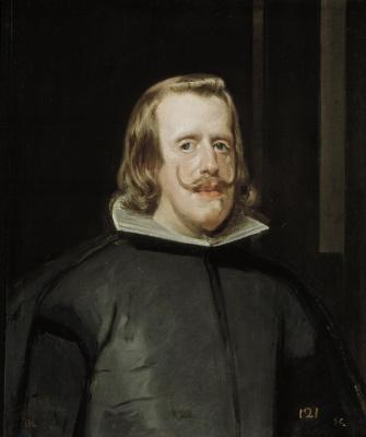 Диего Веласкес. Портрет Филиппа IV