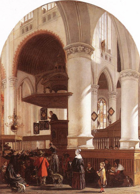 Emmanuel de Witte. Inside the old
