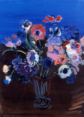 Raoul Dufy. Bouquet