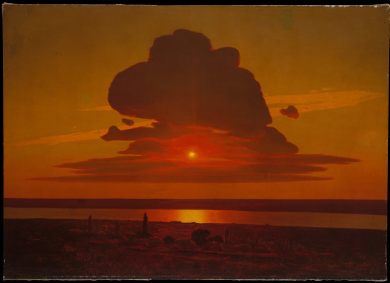 Arkhip Kuindzhi. Red sunset on the Dnieper
