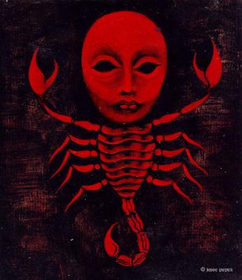 Джесси Пепер. Красный скорпион