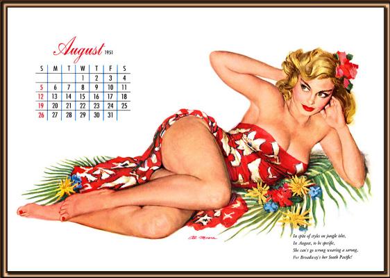 Al Moore. Hot August