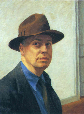 Edward Hopper. Self-portrait