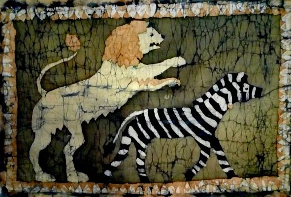 Roman Vereshchagin. Medieval fresco