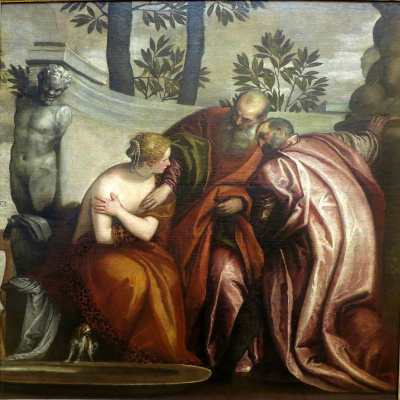 Paolo Veronese. Susanna and the Elders