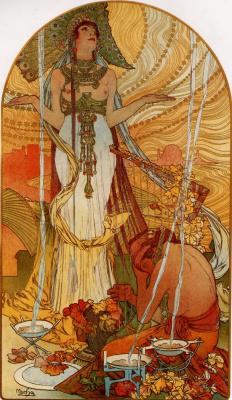 Alfons Mucha. Salammbo