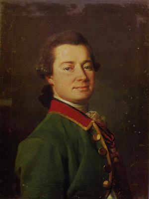 Dmitry Grigorievich Levitsky. Portrait of Colonel E. I. Allenbach