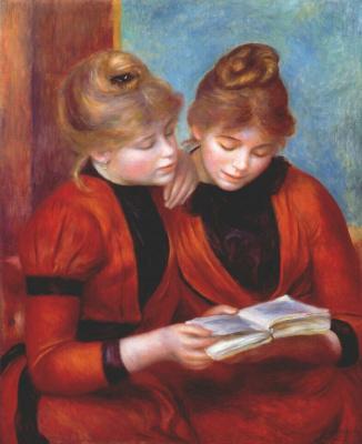 Pierre-Auguste Renoir. Two sisters