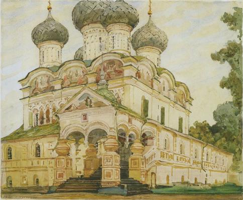 Vladimir Aleksandrovich Plotnikov. Trinity Cathedral of the Ipatievsky monastery in Kostroma