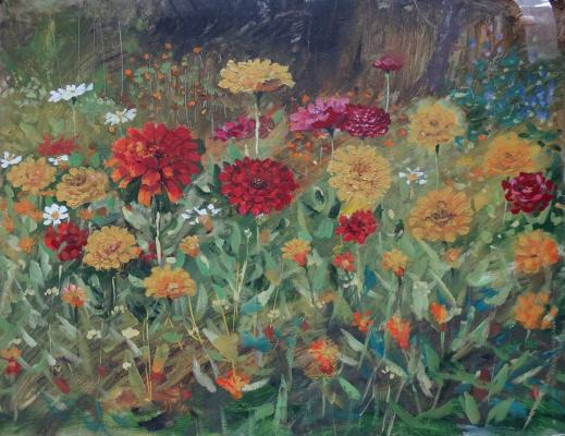 Александр Ягодкин. Августовские цветы