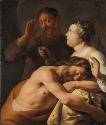 Jan Lievens. Samson and Delilah