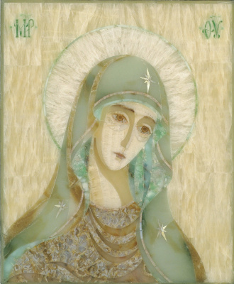 """Aleksei Zagorskij. """"Our lady of Tenderness"""", the """"sorrowful"""""""