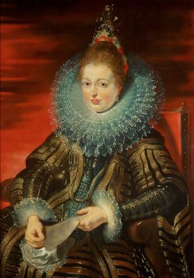 Peter Paul Rubens. Portrait of the Infanta Isabella Clara Eugenia, Regency Flanders