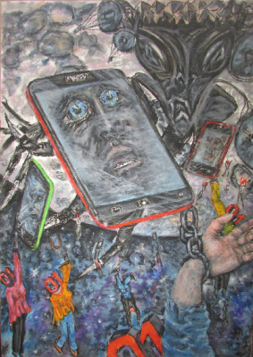 "Alexander Vasilyevich Kozhevnikov. A series of ""Zhirovoy slavery"" In the thrall of the smartphone"
