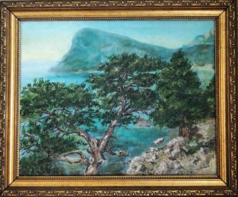 Алина Евгеньевна Шварёва (Галкина). Crimean pine