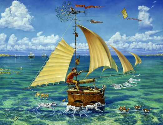 Mikhail Khokhlochev. Fool ship