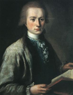 Михаил Шибанов. Портрет А. Г. Спиридова