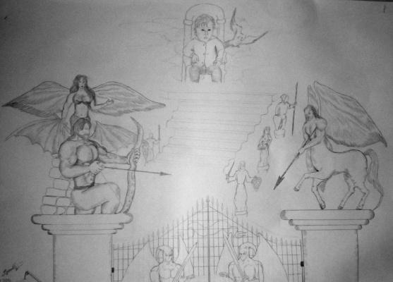 "Дмитрий Юрьевич Буянов. The Allegory Of The ""Gate Of Life"""