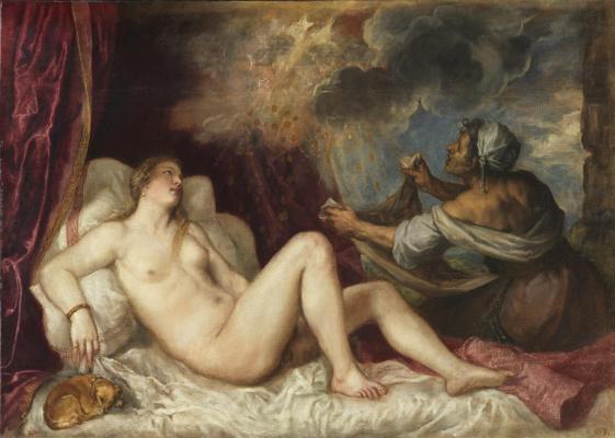 Titian Vecelli. Danae