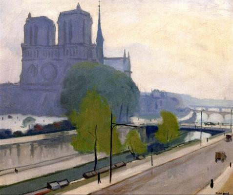 Albert Marquet. Notre Dame