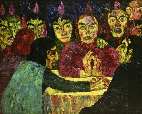 Emil Nolde. Holy Trinity Day