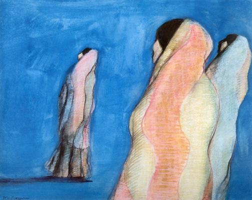 Рудольф Карл Горман. Три пустынные женщины