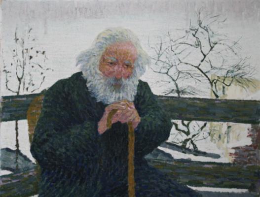 Giovanni Giacometti. The old man
