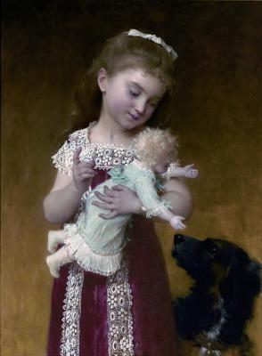 Эмиль Мюнье. Девушка и кукла