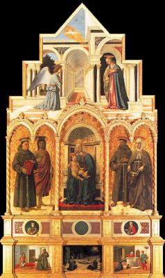 Пьеро делла Франческа. Антоний