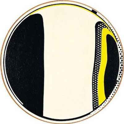 Рой Лихтенштейн. Зеркало No. 10