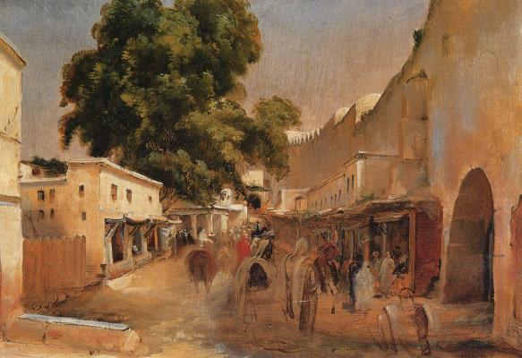 Жан Шарль Ланглуа. Алжир
