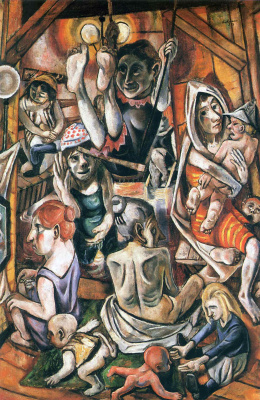 Max Beckmann. The plot 11