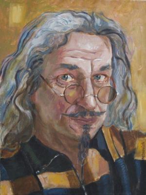 Vladimir Petrovich Kordyukov. Self portrait