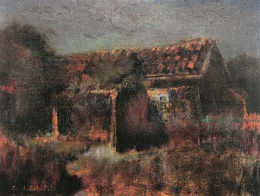Charles Rollo Peters. The old French Consulate, Monterey