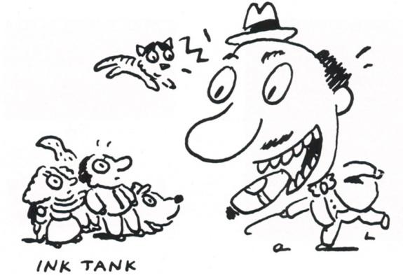 Гэри Бейзмен. Иллюстрация