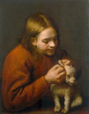 Педро Нуньес де Вильявисенсио. Мальчик со щенком