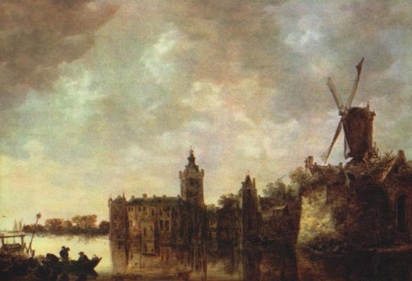 Jan van Goyen. Montfort Castle
