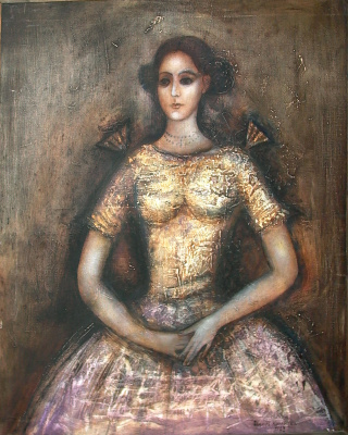 """Igor Vasilyevich Kislitsyn. """"Portrait"""""""