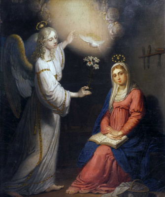 Vladimir Lukich Borovikovsky. The Annunciation