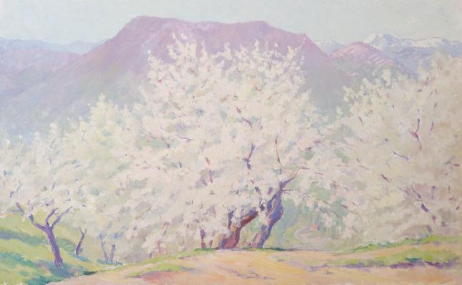 Sergey Yakovlevich Lagutin. Spring in the Carpathians