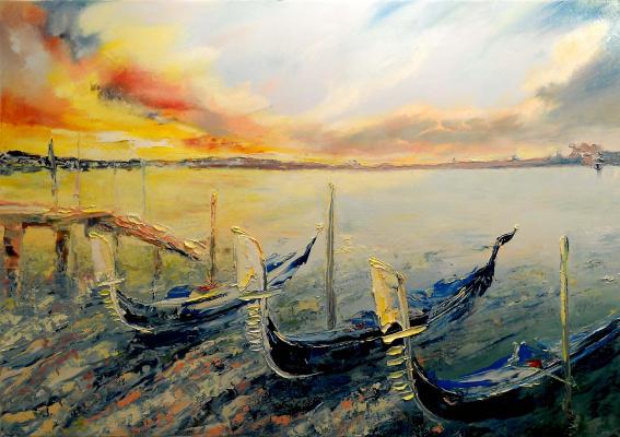 Вадим Анатольевич Столяров. Venice. Sunset