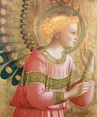 Fra Beato Angelico. Angel of the Annunciation
