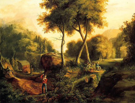 Thomas Cole. Landscape