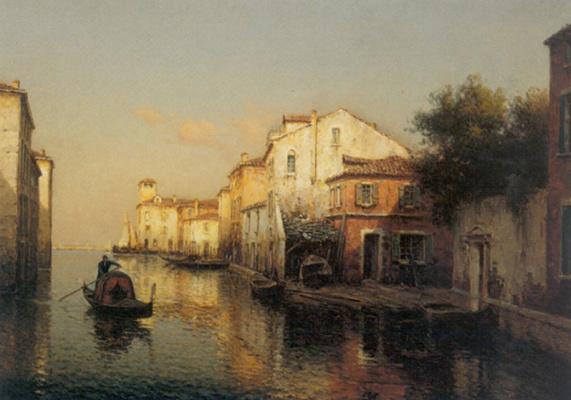 Antoine Bouvard. The Grand canal