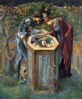 Edward Coley Burne-Jones. Sinister head