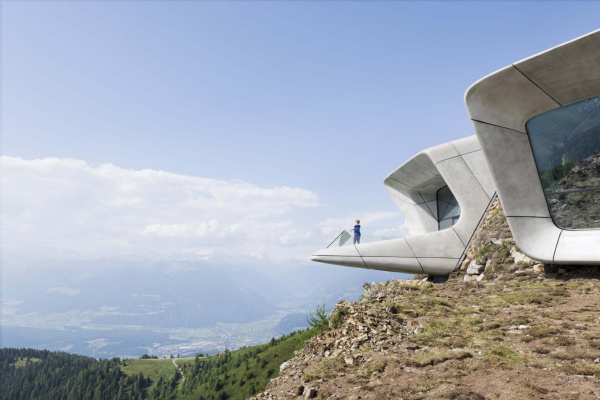 Zaha Hadid. Messner Mountain Museum