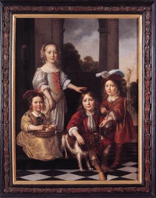 Nicholas Mas. Four children