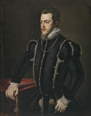 Sofonisba Anguissola. King of Spain Philip II